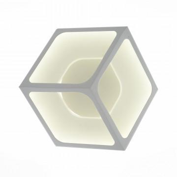 Настенный светодиодный светильник ST Luce Arcano SL952.501.01, LED 28W 4000K, белый, металл