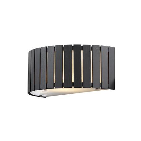 Настенный светильник Citilux Ямато CL137321, 2xE14x40W, белый, коричневый, дерево, стекло - миниатюра 1