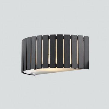 Настенный светильник Citilux Ямато CL137321, 2xE14x40W, белый, коричневый, дерево, металл, стекло - миниатюра 3