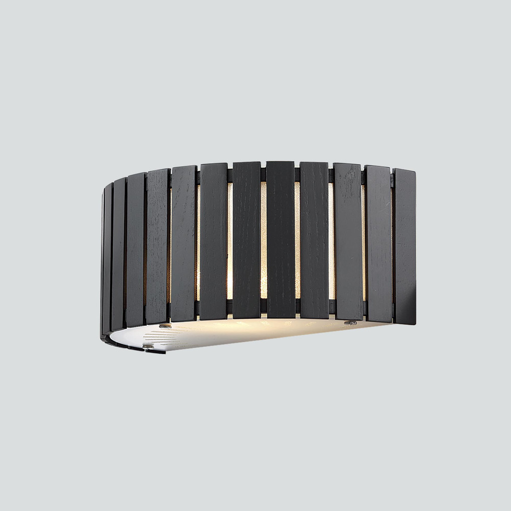 Настенный светильник Citilux Ямато CL137321, 2xE14x40W, коричневый, дерево, стекло - фото 3