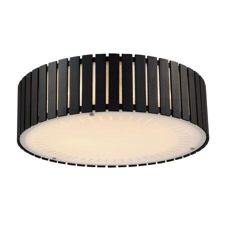 Потолочный светильник Citilux Ямато CL137151, 5xE27x75W, белый, коричневый, дерево, металл, стекло