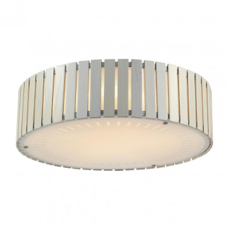 Потолочный светильник Citilux Ямато CL137152, 5xE27x75W, белый, коричневый, дерево, металл, стекло