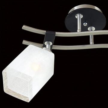 Потолочный светильник с регулировкой направления света Citilux Мерида CL142121, 2xE27x75W, венге, белый, дерево, металл, стекло - миниатюра 4