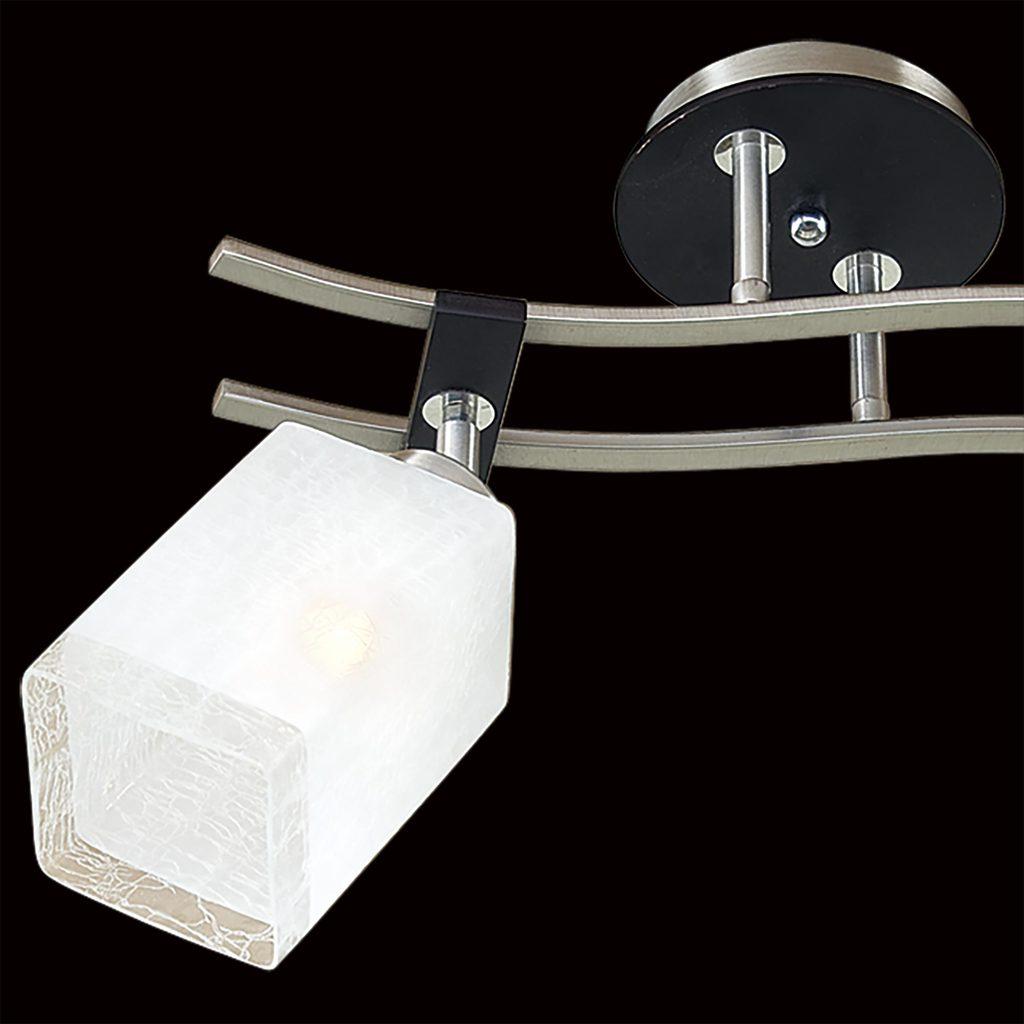 Потолочный светильник с регулировкой направления света Citilux Мерида CL142121, 2xE27x75W, венге, белый, дерево, металл, стекло - фото 4