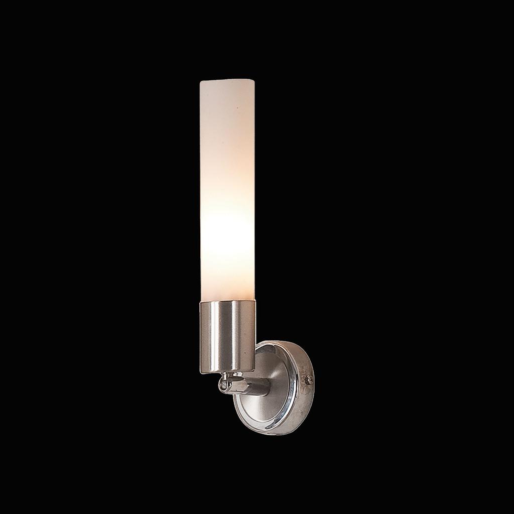 Бра с регулировкой направления света Citilux Компакто CL101311, 1xE14x60W, матовый хром, белый, металл, стекло - фото 2
