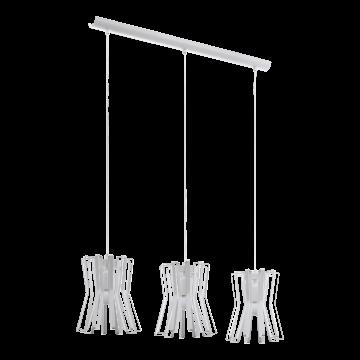 Подвесной светильник Eglo Locubin 97951, 1xE27x40W, белый, металл