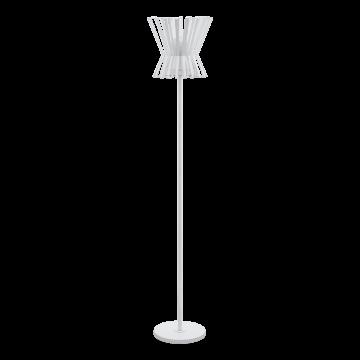 Торшер Eglo Locubin 97953, 1xE27x40W, белый, металл