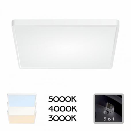 Светодиодный светильник Citilux Бейсик CL738K500V, IP40, LED 50W, белый, пластик с металлом, металл с пластиком