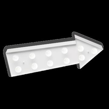 Настенный светильник Ideal Lux CIRCUS-1 AP11 BIANCO 153513, 11xE14x40W, белый, металл