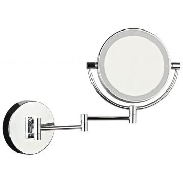 Косметическое зеркало со светодиодной подсветкой Wertmark Luna WE250.01.101, IP44, LED 3W