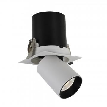 Встраиваемый светодиодный светильник с регулировкой направления света Favourite Finis 2226-1U, LED 12W 4000K (дневной)