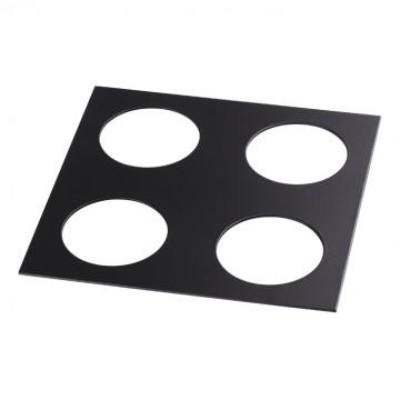 Декоративная рамка Novotech Metis 357912, черный, металл