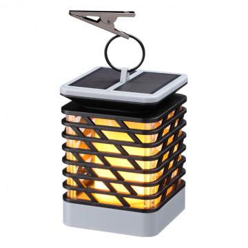 Садовый светодиодный светильник Novotech Fuoco 357990, IP65, LED 1W 3000K 30lm, серый, черный, пластик