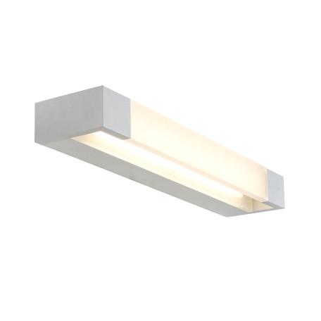 Настенный светодиодный светильник ST Luce Linarita SL1587.501.01, IP44, LED 12W 4000K 936lm, белый, металл с пластиком