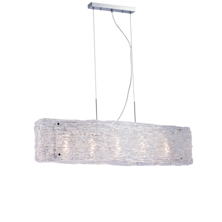 Подвесной светильник Lucia Tucci Illuminazione RUMBA 1054.5 chrome, 5xE14x40W