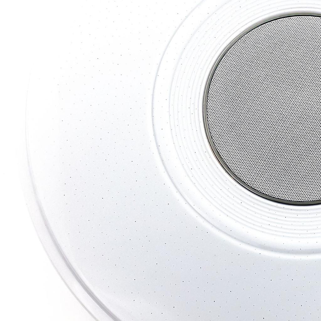 Музыкальный потолочный светодиодный светильник с пультом ДУ Citilux Старлайт CL703M50, LED 60W 3000-4200K + RGB 3500lm, белый, металл, пластик - фото 3