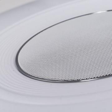 Музыкальный потолочный светодиодный светильник с пультом ДУ Citilux Старлайт CL703M50, LED 60W 3000-4200K + RGB 3500lm, белый, металл, пластик - миниатюра 8