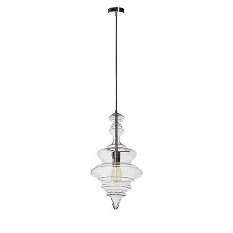 Подвесной светильник Loft It La Scala 2073-A, 1xE27x60W, хром, прозрачный, металл, стекло