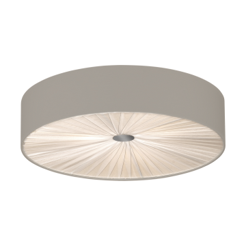 Потолочный светильник Eglo Fungino 39443, белый, серый, металл, текстиль