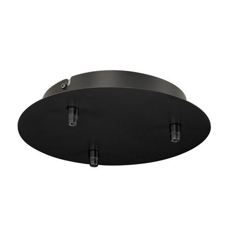 База для подвесного монтажа светильника SLV FITU 132610, черный, металл