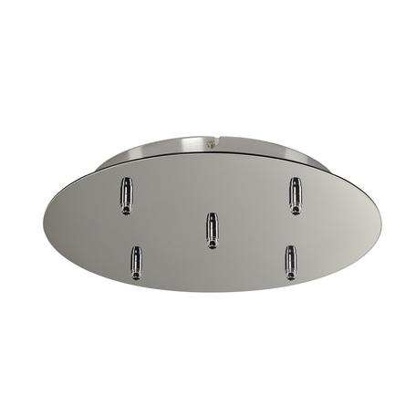 База для подвесного монтажа светильника SLV FITU 132625, хром, металл