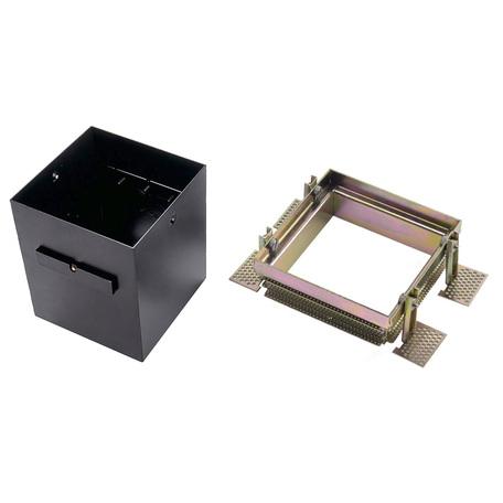 Основание встраиваемого светильника SLV AIXLIGHT® PRO, 1 FRAMELESS 115151, черный, металл
