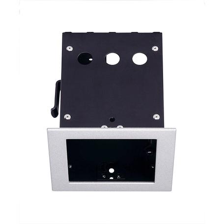 Основание встраиваемого светильника SLV AIXLIGHT® PRO 50, 1 FRAME 115304, серебро, металл
