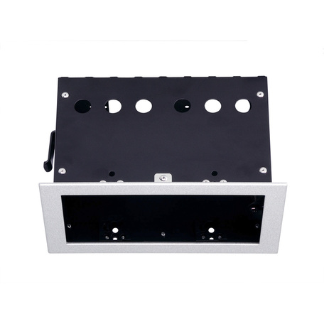 Основание встраиваемого светильника SLV AIXLIGHT® PRO 50, 2 FRAME 115314, серебро, металл