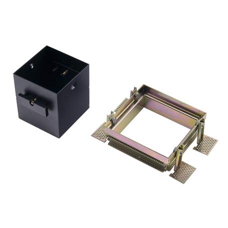 Основание встраиваемого светильника SLV AIXLIGHT® PRO 50, 1 FRAME 115351, черный, металл