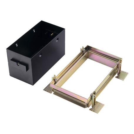 Основание встраиваемого светильника SLV AIXLIGHT® PRO 50, 2 FRAME 115352, черный, металл