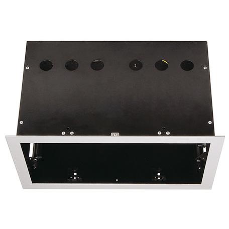 Основание встраиваемого светильника SLV AIXLIGHT® PRO, 2 FRAME 115114, серебро, металл