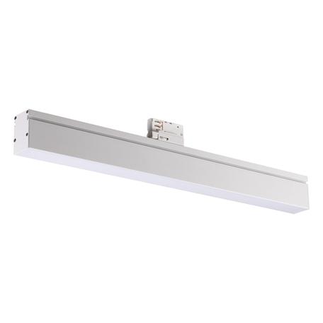 Светодиодный светильник для шинной системы Novotech Port Iter 358187, LED 18W 4000K 1800lm, белый, металл