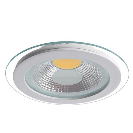 Светодиодный светильник Arte Lamp Raggio A4210PL-1WH, белый, прозрачный