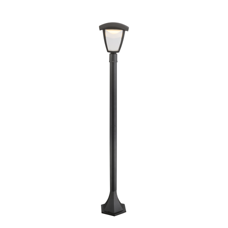 Уличный светодиодный фонарь Globo Delio 31828, IP44, LED 7W 3000K 360lm, металл, металл с пластиком