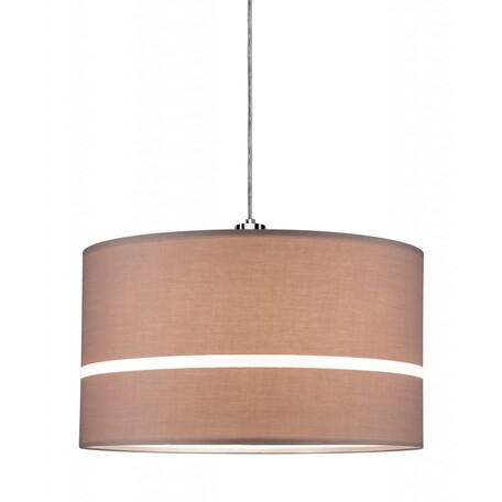 Абажур Paulmann URail Tessa 95468, коричневый, текстиль