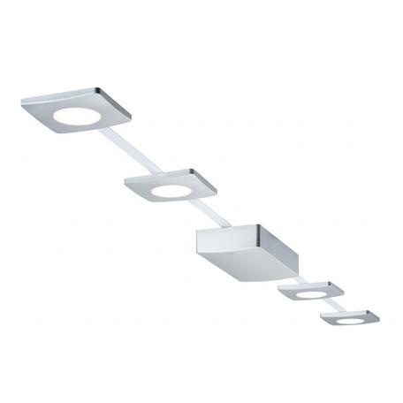 Гибкая система освещения Paulmann EcoPad Square 95349, LED 8,8W, матовый хром, пластик