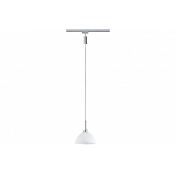 Подвесной светильник для шинной системы Paulmann Sarrasani 95450, 1xGU10x10W, металл, стекло