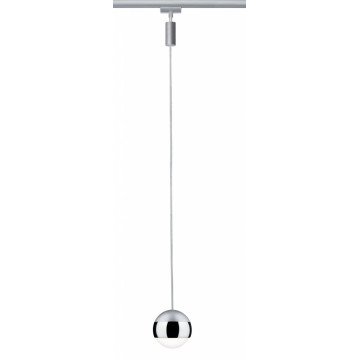 Подвесной светодиодный светильник для шинной системы Paulmann Urail Pendulum Capsule II 95457, LED 6W, металл, металл с пластиком