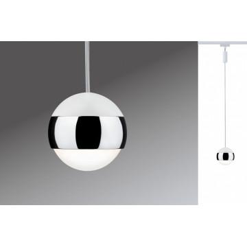 Подвесной светодиодный светильник для шинной системы Paulmann Urail Pendulum Capsule II 95458, LED 6W, металл, металл с пластиком