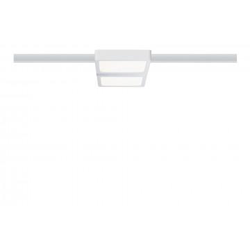 Светодиодный светильник Paulmann URail LED Panel Double 95310, LED 8W, хром, пластик