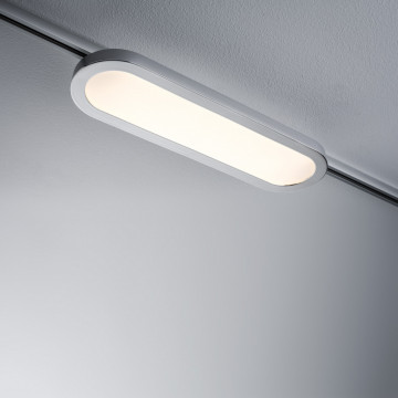 Светодиодный светильник для шинной системы Paulmann URail LED Panel Longus 95319, LED 7W, матовый хром, пластик