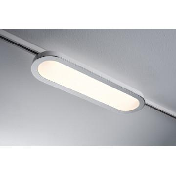 Светодиодный светильник для шинной системы Paulmann URail LED Panel Longus 95320, LED 7W, хром, пластик