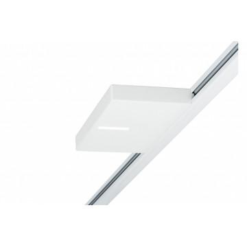 Светодиодный светильник Paulmann URail LED Spot Uplight Squared 95324, LED 16W, белый, металл