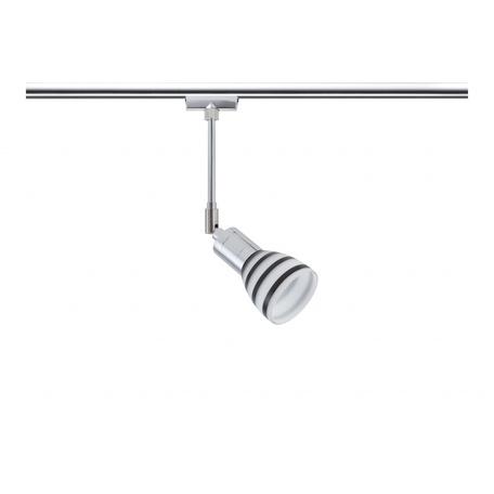 Светильник для шинной системы Paulmann Titurel 96877, 1xG9x40W, металл, стекло