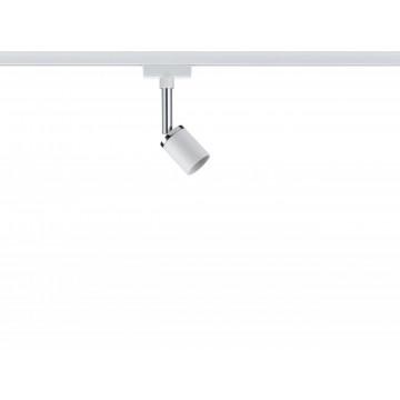 Светильник с регулировкой направления света Paulmann URail Spot Pure II 95333, 1xGU10x10W, белый, металл с пластиком