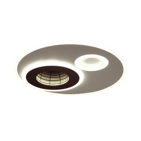 Потолочный светодиодный светильник Lumion LEDio Milly 4501/85CL, LED 85W, белый, 3D-эффект, металл, металл с пластиком