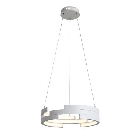 Подвесной светодиодный светильник ST Luce Genuine SL963.503.01, LED 45W 3000K 2920lm, белый, металл