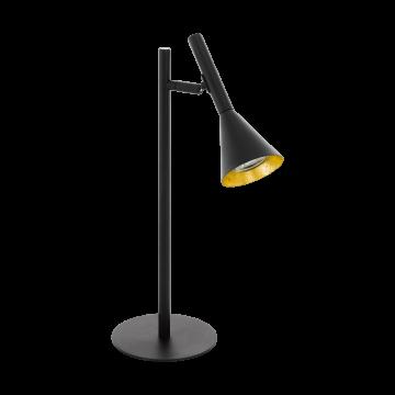 Настольная лампа Eglo Cortaderas 97805, 1xGU10x5W, черный, металл
