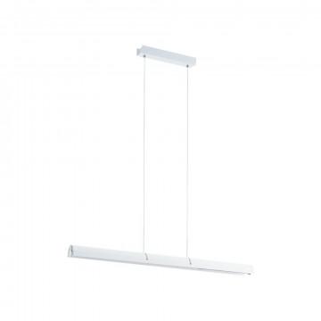 Подвесной светодиодный светильник Eglo Caldina 97497, LED 21W 3000K 2500lm, белый, металл