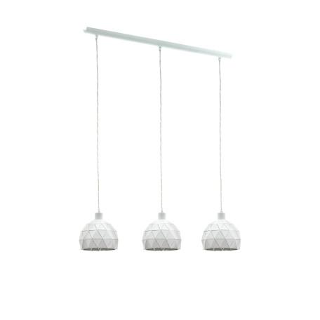 Подвесной светильник Eglo Roccaforte 97857, 3xE14x40W, белый, металл